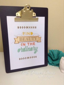 my paper oasis, stampin up, enjoy the little things, project kit, occasions 2016