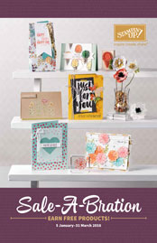 2016 Stampin Up Saleabration catalogue
