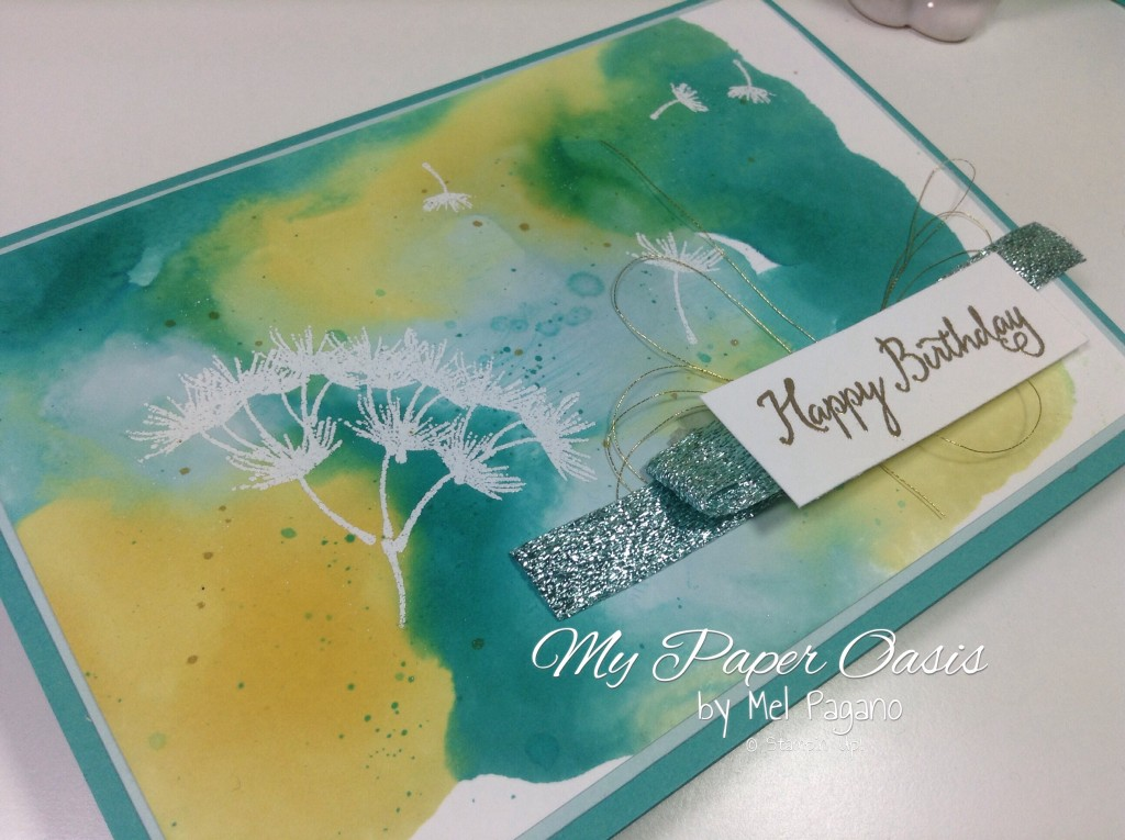 From My paper Oasis; Balloon Celebration; Balloon Card; Balloon Bundle; Birthday Card;