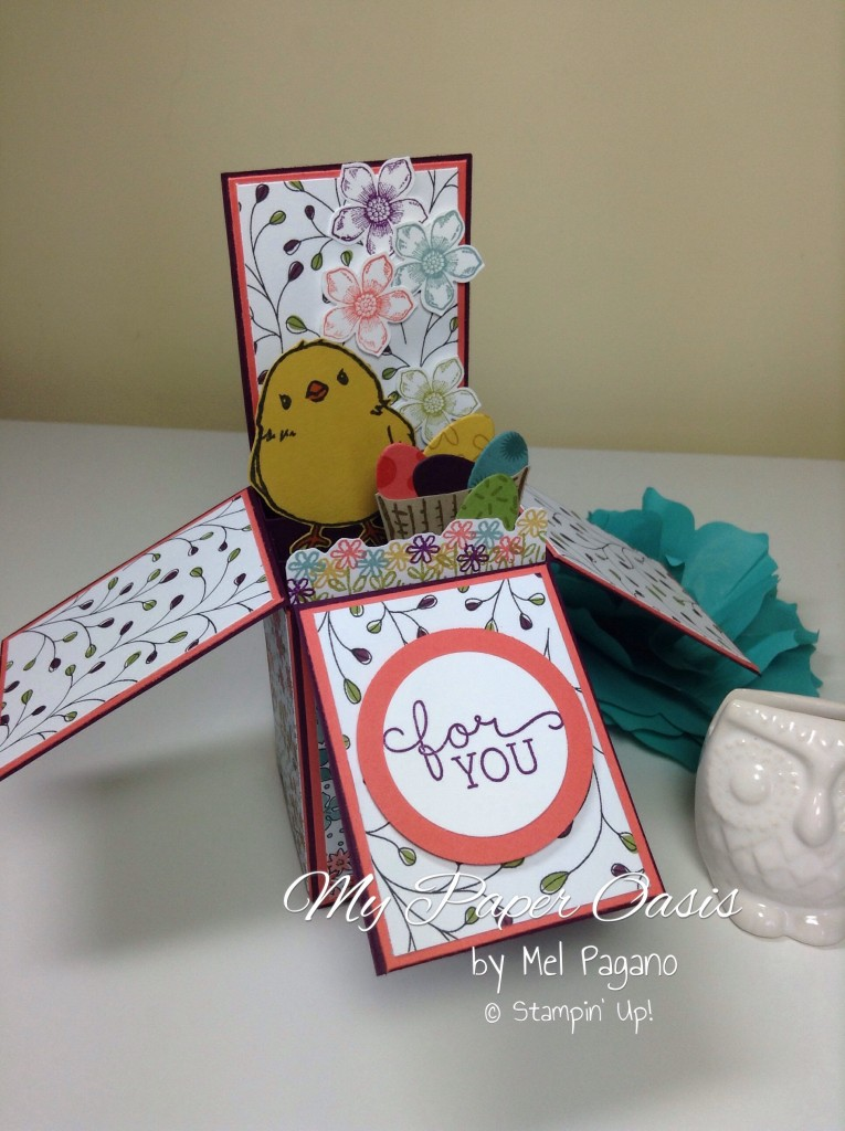 My Paper Oasis, Honeycomb Happiness, Card in a box, Easter Card
