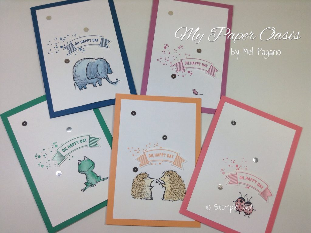 love you lots; stampin up; hostess set; cute critters; thoughtful banners; in colours 2016-2017; my paper oasis