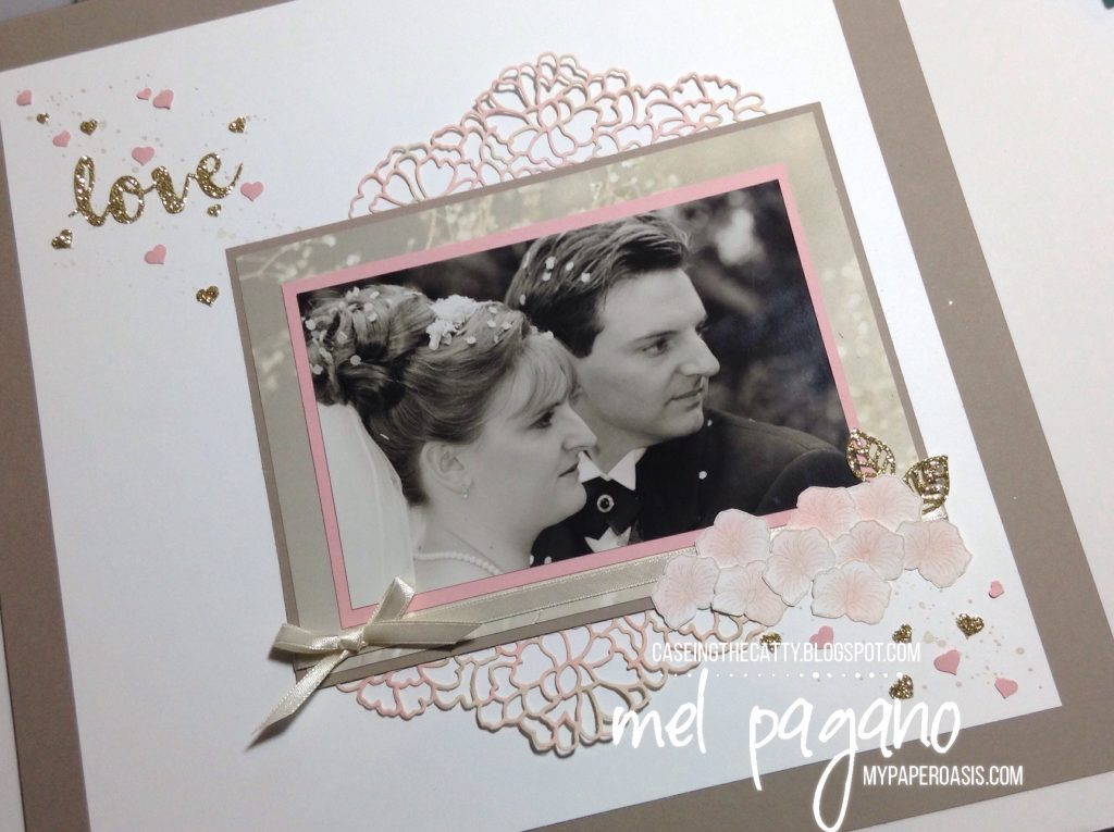 CTC 122 Falling in Love with So Detailed Thinlets by My Paper Oasis, Stampin' Up!, scrapbook page