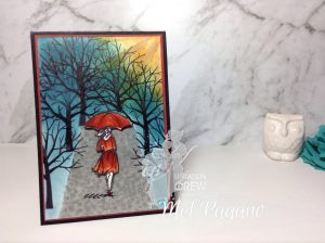 Colour Inspiration #10 by Mel pagano at My Paper Oasis using Stampin' Up!s Beautiful You and Sheltering Tree