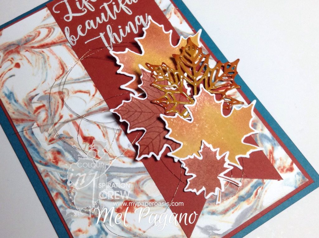 Colour Inkspiration #10 by Mel Pagano at My Paper Oasis using Stampin' Up!s Colourful Seasons Bundle