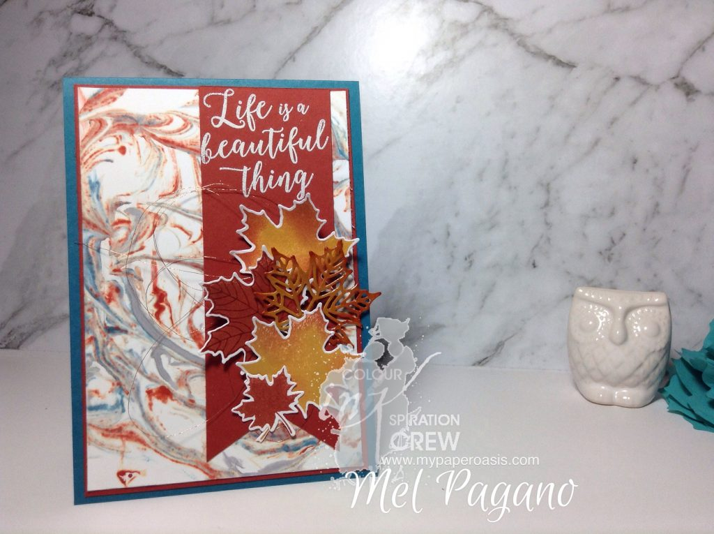 Colour INKspiration #10 by Mel pagano at My Paper Oasis using Colourful Seasons Bundle
