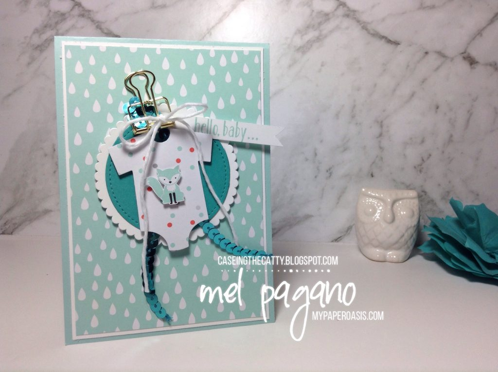 CTC129 Favourite Project from Annual Catalogue with Mel Pagano from My Paper Oasis using Foxy Friends Suite from Stampin' Up!