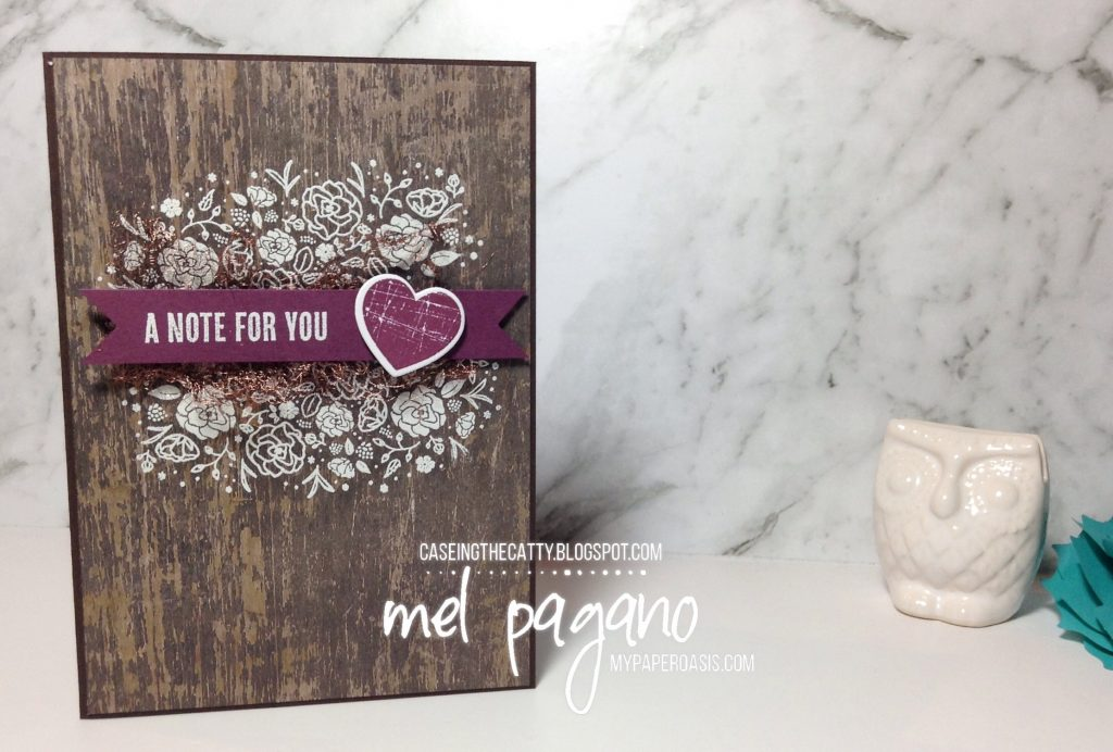 CTC 131 Everyday Occasions by Mel Pagano at My Paper Oasis using Wood Words Suite by Stampin' Up!