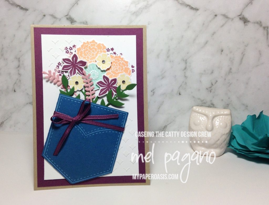 CTC 140 - Pocketful of Sunshine and Beautiful Bouquet by Mel Pagano at My Paper Oasis