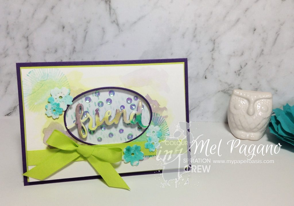 Colour INKspiration 15 featuring Lovely Inside and Out by Stampin Up with the new Lemon Lime Twist!