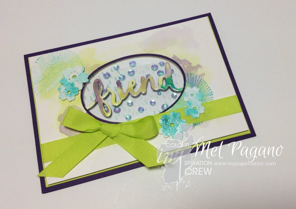 Colour INKspiration 15 featuring Lovely Inside and Out by Stampin Up from Mel Pagano at My Paper Oasis