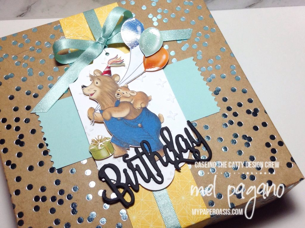 CTC 141 Birthday Foil Frenzy Pretty Packaging by Mel Pagano at My Paper Oasis