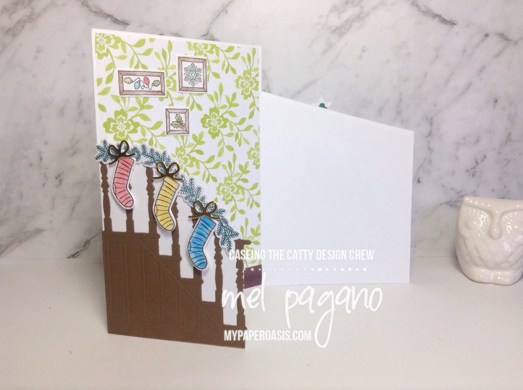 CTC 144 Ready for Christmas Bundle Tri Fold Card by Mel Pagano at My Paper Oasis.