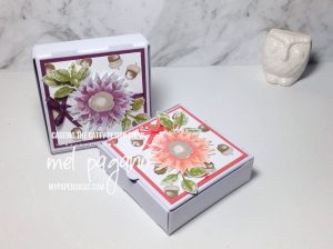 CTC 146 Mini Pizza Box Gift Cards using Painted Harvest by Stampin Up by MY Paper Oasis