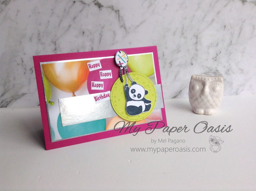 CTC 160 - Picture Perfect Party Pandas by My Paper Oasis