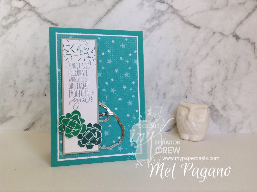 Colour INKspiration 26 - Picture Perfect Birthday by Mel Pagano at My Paper Oasis
