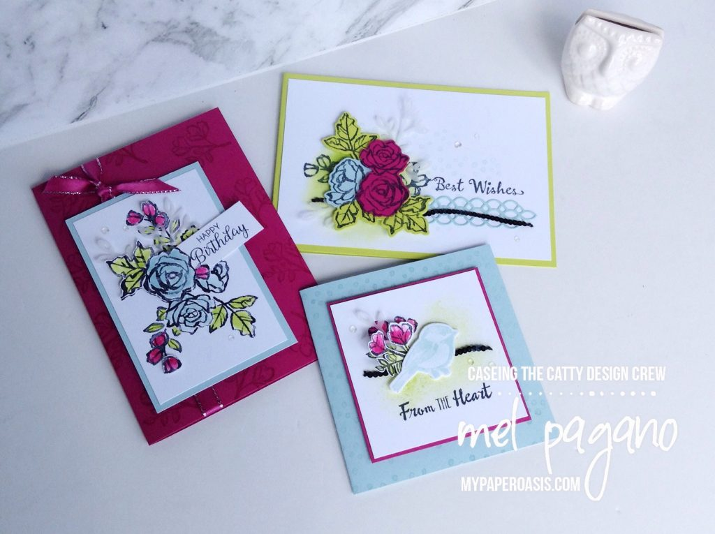 CTC 164 - Occasions Kits using Petal Palette by Mel Pagano at My Paper Oasis