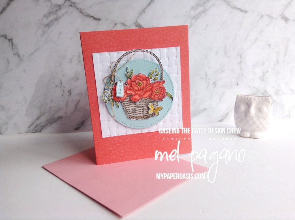 CTC 169 Saleabration and Blossoming Basket by Mel Pagano at My Paper Oasis