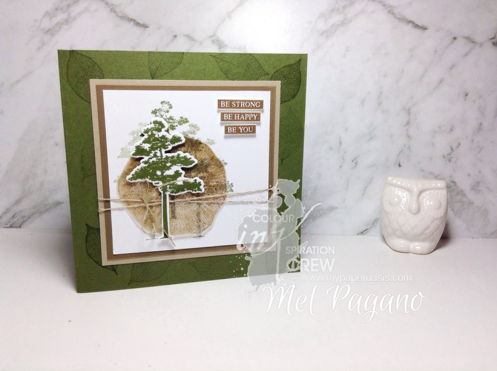 My Paper Oasis - Colour INKspiration 35 Neutrals Palette using Rooted in Nature by Stampin Up