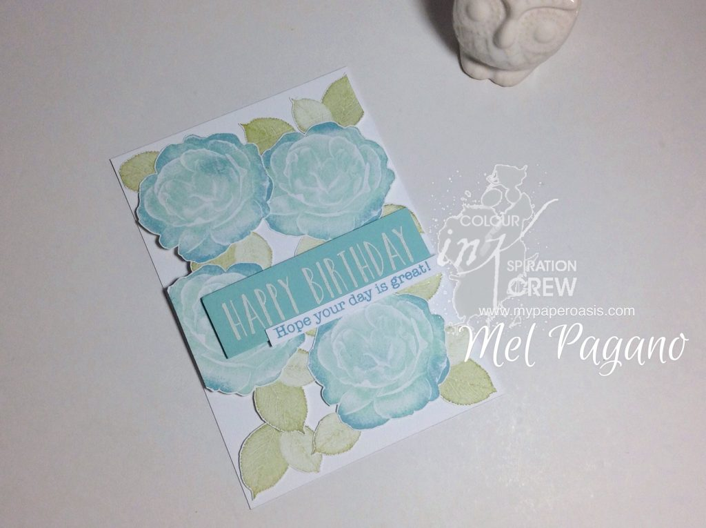 Colour ONKspiration 39 Healing Hugs from Stampin' Up! by Mel at My Paper Oasis